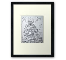 Justice B&W Framed Print