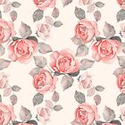 Floral pattern 8. Roses by Gribanessa