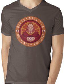 Tea or Poison (Black Version) Mens V-Neck T-Shirt