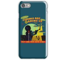 Humans Are Among Us! ver.teal iPhone Case/Skin
