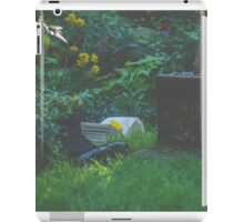 A Book, Flower, Boots and Luggage iPad Case/Skin