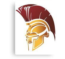 Sparta Helmet Logo Hoodie MMA UFC Boxing Fight Train Fitness Great Gift Idea Canvas Print