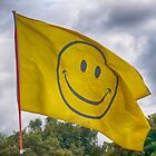 Smiley Flag by Glen Allen