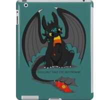 Can't take the sky iPad Case/Skin