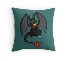 Can't take the sky Throw Pillow