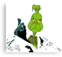 The Grinch Who Stole Christmas Canvas Print
