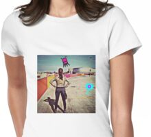 Sci-fi-ing. Womens Fitted T-Shirt