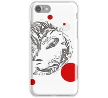 Eurasia with polka dots iPhone Case/Skin