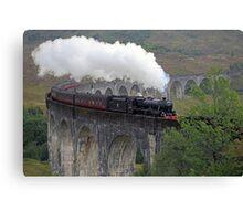 The Jacobite Steam Train Canvas Print