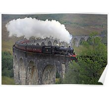 The Jacobite Steam Train Poster