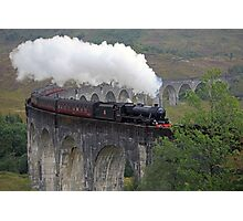 The Jacobite Steam Train Photographic Print