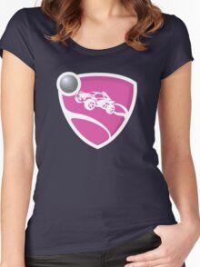 Rocket League - Pink Women's Fitted Scoop T-Shirt