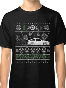 Toyota AE86 Ugly christmas sweater Classic T-Shirt