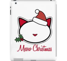 Meow Christmas ! iPad Case/Skin