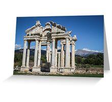 Monumental Gateway of Aphrodisias Greeting Card