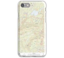 USGS TOPO Map California CA Sly Park 20120510 TM geo iPhone Case/Skin