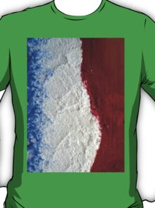 The flag of France  T-Shirt