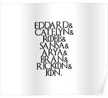 House Stark | Game Of Thrones Poster