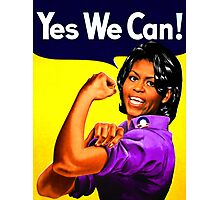 yes we can Photographic Print
