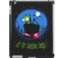 Let The Invasion Begin !  iPad Case/Skin