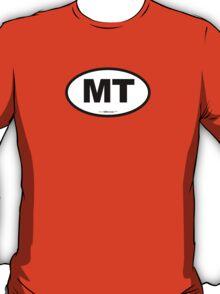 Montana MT Euro Oval T-Shirt
