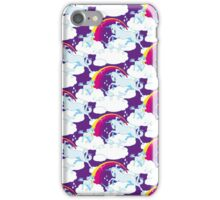 Einhorn Familie – Unicorn Family - Violet iPhone Case/Skin