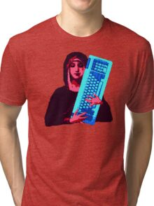 Keyboard Mary Tri-blend T-Shirt