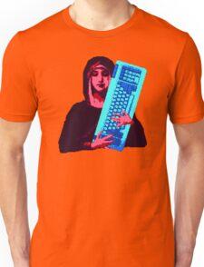 Keyboard Mary Unisex T-Shirt