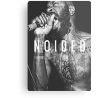 Death Grips - Noided Metal Print