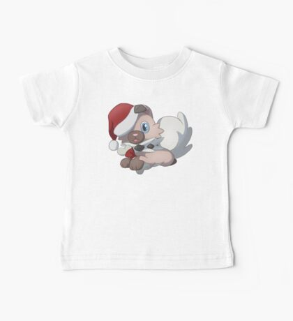 Christmas Rock Puppy Baby Tee
