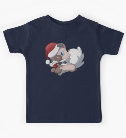 Christmas Rock Puppy Kids Tee