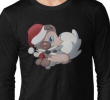 Christmas Rock Puppy Long Sleeve T-Shirt