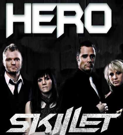 HERO SKILLET Sticker