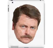 Ron Swanson Low Poly iPad Case/Skin