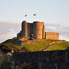 Criccieth Castle at Sunset - North Wales by Chris Monks