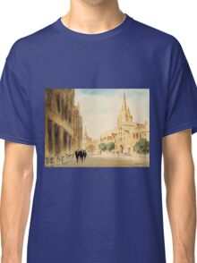 Oxford Students In The High Street Classic T-Shirt