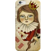 The Queen of Hearts iPhone Case/Skin
