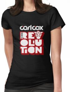 Carl Cox - Music is Revolution Shirt  Womens Fitted T-Shirt