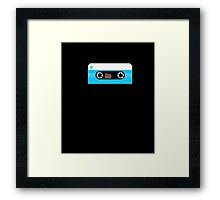 Cassette Tape Retro 80's Music Lover T-Shirt  Framed Print