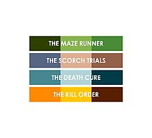 The Maze Runner Series in Basic Colors Photographic Print