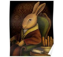 Sir Rabbit Worthington Poster