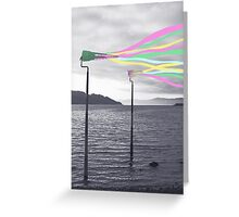 Colorful Wind Greeting Card