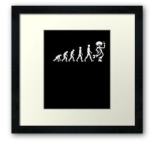 Disco Evolution Gift For Dancing Fan Music Lover T-Shirt  Framed Print