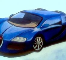 Bugatti Blue by Andrew Howard