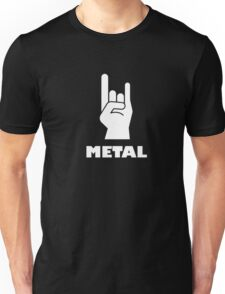 Rock On Heavy Metal T-Shirt Metal Music Lovers 2 Unisex T-Shirt