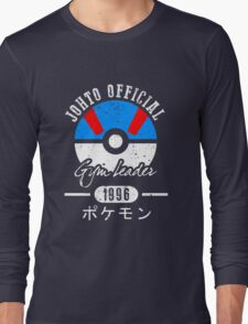 JOHTO Gym Leader  Long Sleeve T-Shirt