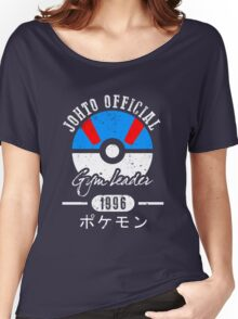 JOHTO Gym Leader  Women's Relaxed Fit T-Shirt