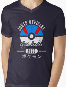 JOHTO Gym Leader  Mens V-Neck T-Shirt