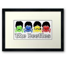 The Beatles/Beetles Framed Print