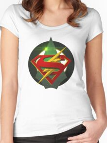 SuperArrowFlash Women's Fitted Scoop T-Shirt